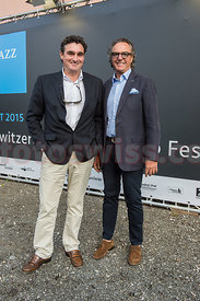 Opening event of the festival da jazz 2015 at the dracula club in St.Moritz