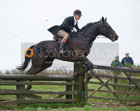 John Knowles jumping fences at Stone Lodge Farm - The Cottesmore at John O'Gaunt 24/11/12