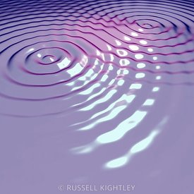 Two Waves Interfering 8 purple
