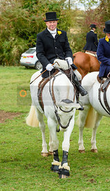 Roger Edmunds at the meet. Quorn Hunt Opening Meet 2018
