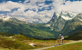 Cycling in Alps | Switzerland