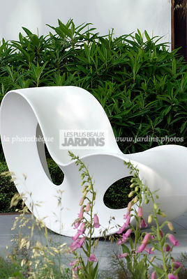 Chair, Contemporary garden, Digital, Garden furniture, Resting area