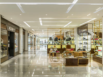 Retail architecture photographer - The interior of Shin Kong Place mall (SKP Beijing) designed by Syberite  in  Beijing, Chin...