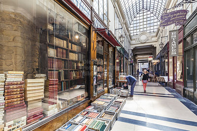 Antiquariat, Passage Verdeau, Paris