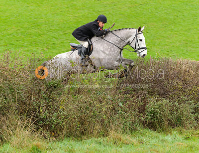 Philip Johnson - The Cottesmore Hunt at Tilton on the Hill, 9-11-13