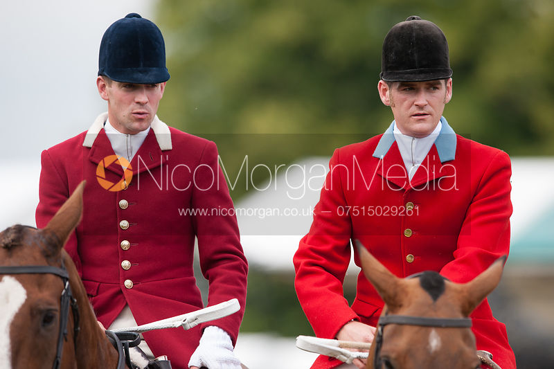 South Notts Hunt at Burghley Horse Trials