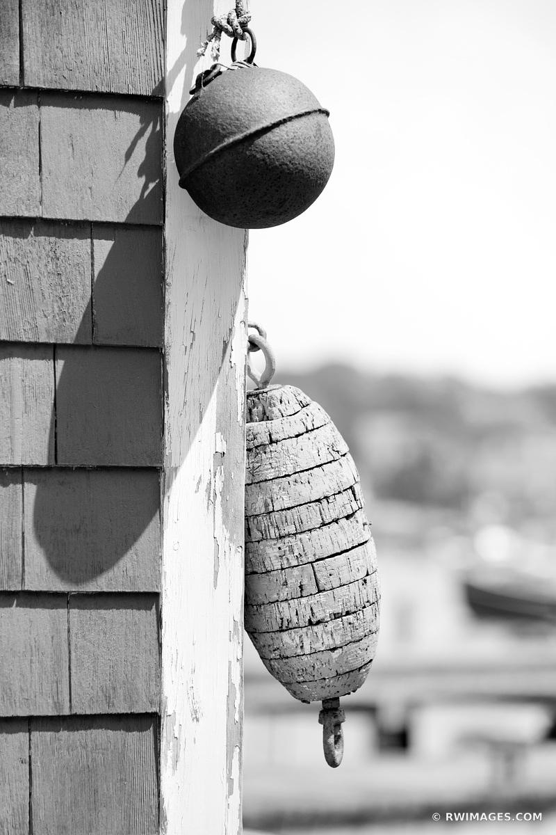 GLOUCESTER HARBOR CAPE ANN MASSACHUSETTS BLACK AND WHITE