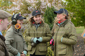 Eleanor Miller, Emilia Broadbent, Blythe Burkhart - Varsity Clay Pigeon Shooting, April 2017