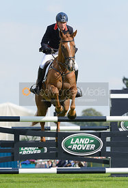 Oliver Townend and ARMADA - show jumping phase, Burghley Horse Trials 2014.