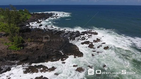 Keanae Peninsula  Maui Hawaii Drone Video