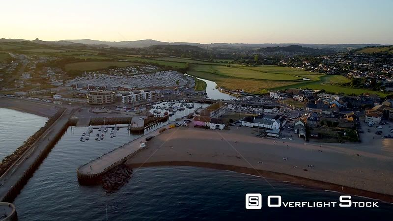West Bay, Bridport Harbour, small harbour settlement and resort on the English Channel coast in Dorset, England