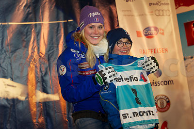 FIS Ski World Cup 2012/2013 Ladies in St.Moritz Ladies' Giant Slalom Draw