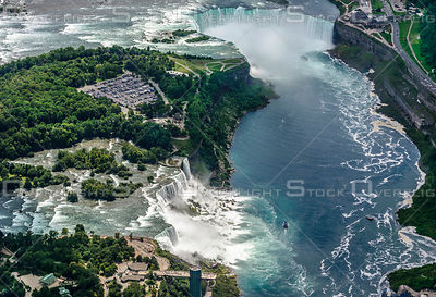 Niagara Falls and the American Falls