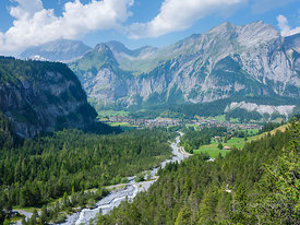 View on Kandersteg