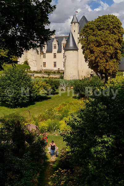 FRANCE, MAINE ET LOIRE, CHATEAU DU RIVAU // France, Indre et Loire, Castle of Rivau