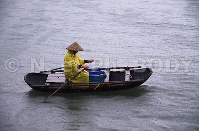 CAI RONG, BAIE DE HA LONG, VIETNAM // Vietnam, Ha Long Bay, Cai Rong Fishing Port
