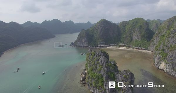 Drone Video Ha Long Bay Vietnam