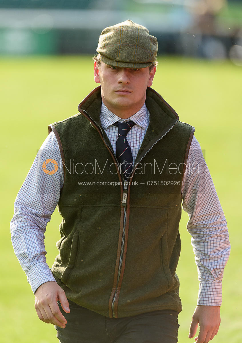 Jay Stacey at the trot up, Land Rover Burghley Horse Trials 2018