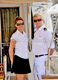 On duty cannes boat show