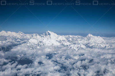 Mount Everest Himalayan Mountains Nepal Asia