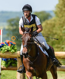 Paul Burgess and MAISTRESSE, Fairfax & Favor Rockingham Horse Trials 2018