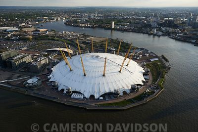 Aerial Photograph of the 02 Arena