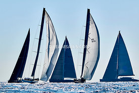 Voiles de Saint-Tropez, Wally yachts.