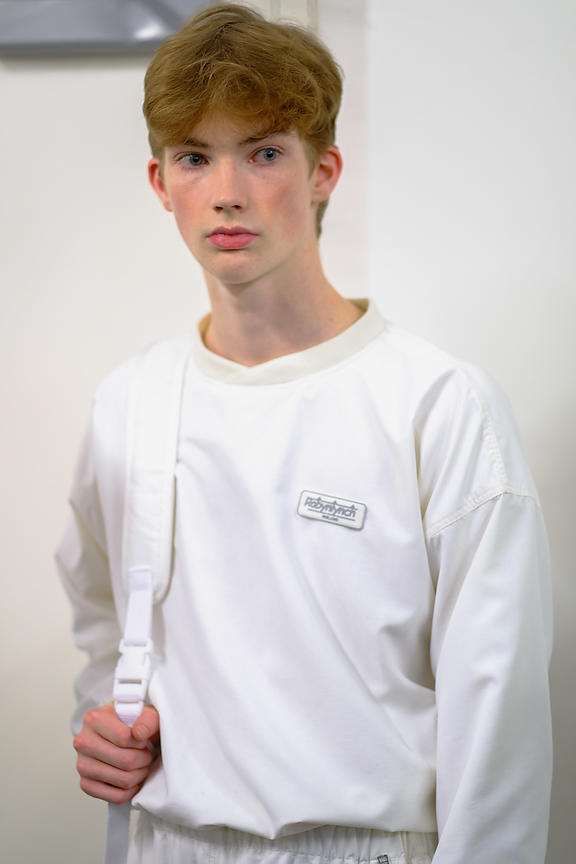 London Fashion Week Mens AW19  - Fashion East Backstage
