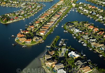 Florida USA Aerial Tampa Bay