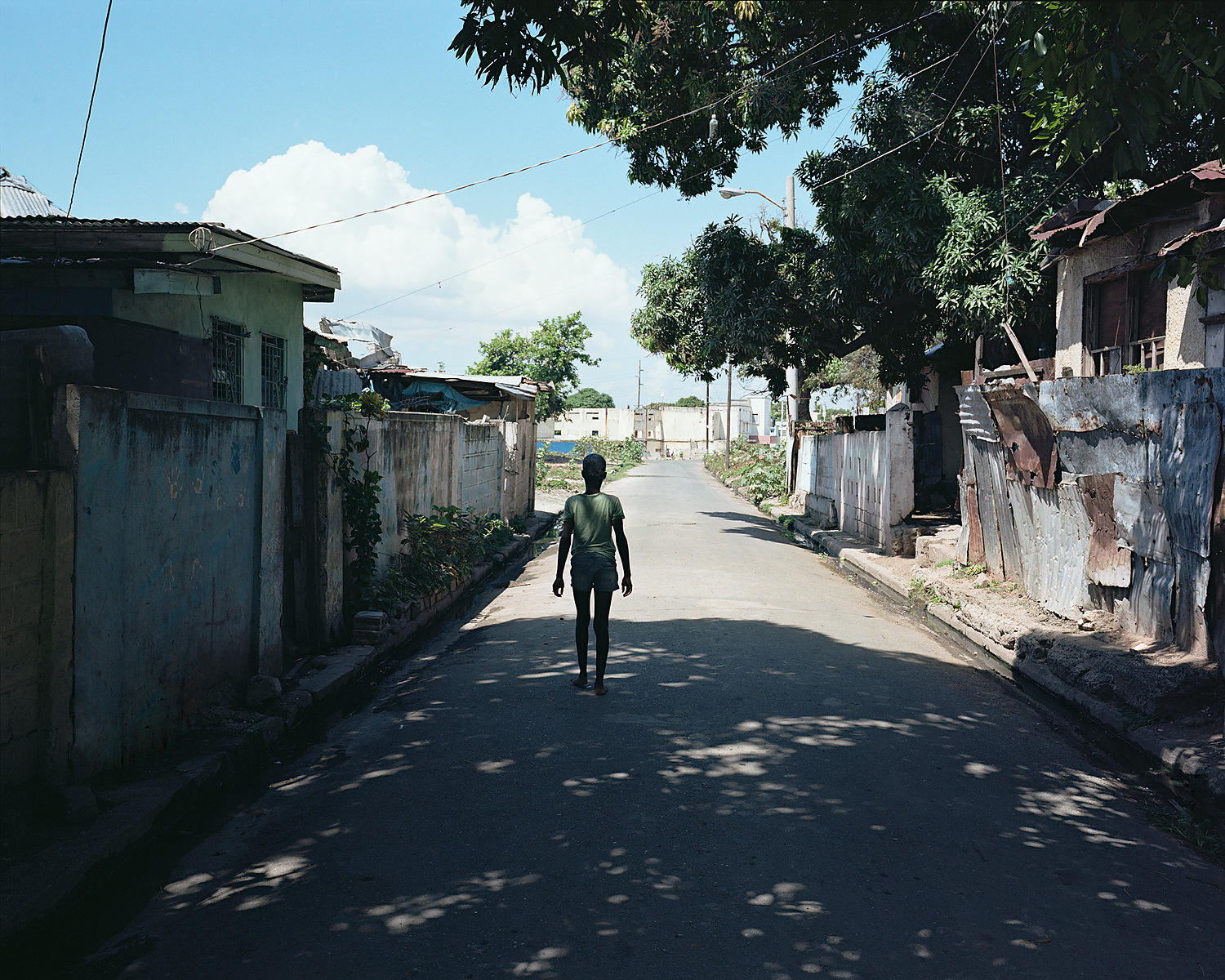 Pouyatt Street, outside where Amy used to live, Kingston, Jamaica
