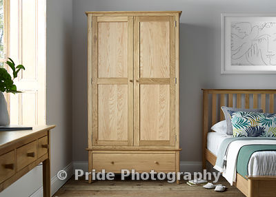 2_Door_Wood_robe_Wood_handles