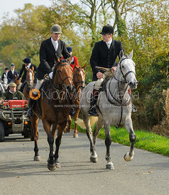 John Knowles, Ollie Finnegan on Cold Overton Road - The Cottesmore at Langham.