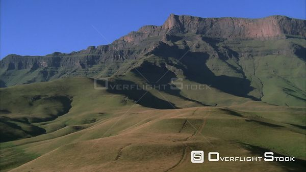 Aerial shot of pristine mountain landscapes Sabie. Mpumalanga South Africa