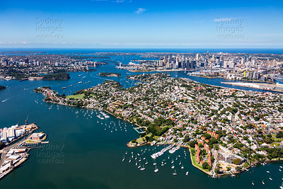 Balmain and Birchgrove to Sydney CBD