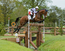 Gemma Tattersall and ARCTIC SOUL - Cross Country phase, Mitsubishi Motors Badminton Horse Trials 2014