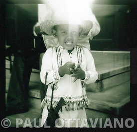 Boy in Traditional Clothes | Paul Ottaviano Photography