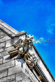 The Marble Church Gargoyle, Denbighshire