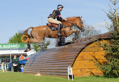 Andrew Nicholson and NEREO - Cross Country - Mitsubishi Motors Badminton Horse Trials 2013.