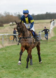 Cantering down - Ladies Open - Cottesmore at Garthorpe