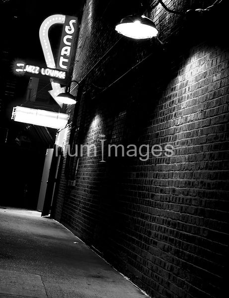 Decor Photography: Scat Jazz Lounge (Film Noir)
