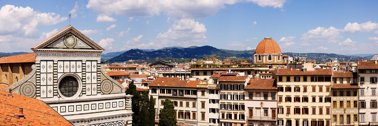 Elevated View of Florence Skyline
