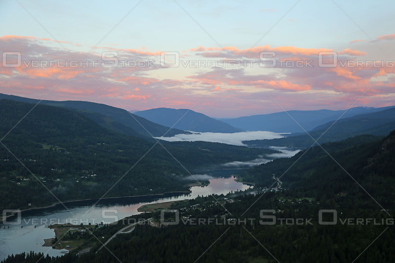 Kootenay River and Taghum Sunrise