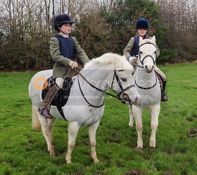 Fenella Hudson and Amelia Murray  - Bedale at Tunstall, Catterick