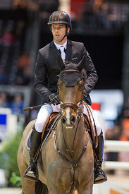 Bordeaux, France, 2.2.2018, Sport, Reitsport, Mercedes-Benz CSI Zurich - Prix FOIRE INTERNATIONALE DE BORDEAUX. Bild zeigt Harrie SMOLDERS (NED) riding Monaco...2/02/18, Bordeaux, France, Sport, Equestrian sport Mercedes-Benz CSI Zurich - LPrix FOIRE INTERNATIONALE DE BORDEAUX. Image shows Harrie SMOLDERS (NED) riding Monaco.