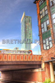 Albion Street Bridge & The Hilton Hotel