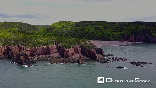 Nova Scotia Bay of Fundy Cape Chignecto Three Sisters Eatonville rocks