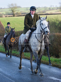 Andrew Collie - Cottesmore Hunt at Deane Bank Farm 4/12/12