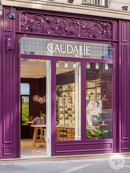 Caudalie boutique & Spa in Lyon, France.