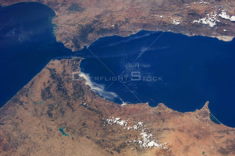 EARTH Straits of Gibraltar -- 23 Aug. 2013) --- The Strait of Gibraltar, where Europe and Africa meet and where the Atlantic ...