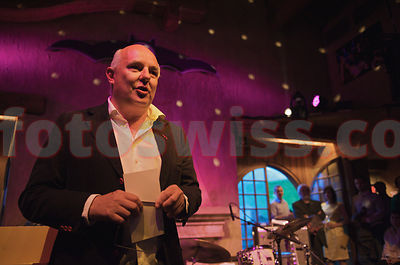 Rolf Sachs President of Festival da Jazz- Live at Dracula in St.Moritz